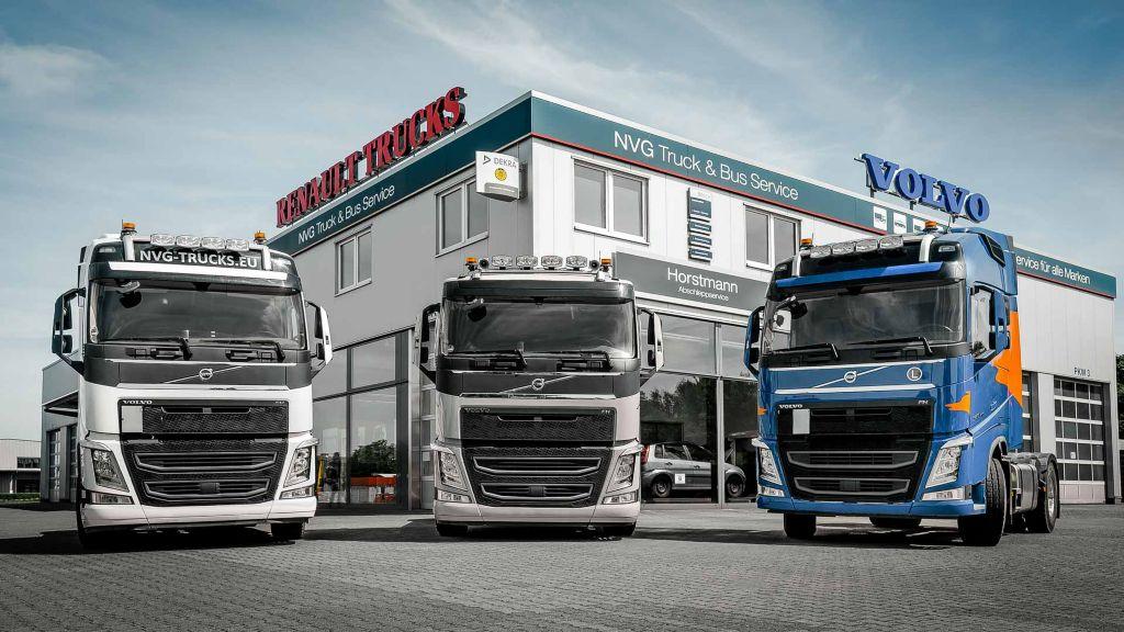 Meisterlich: NVG gewinnt Volvo Action Service Award in Europa