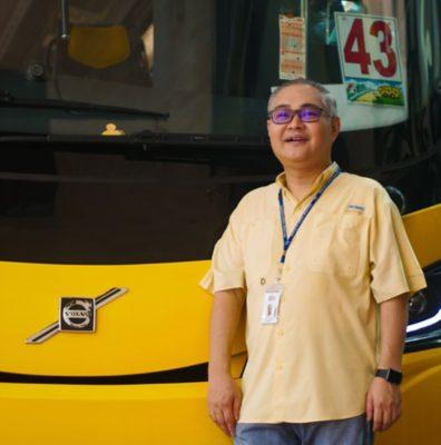 Adrian Yeap, owner of Yeap Transport