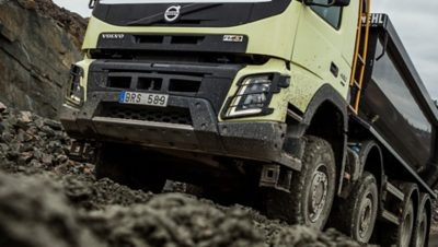 Volvo FMX all wheel drive lower front gravel pit