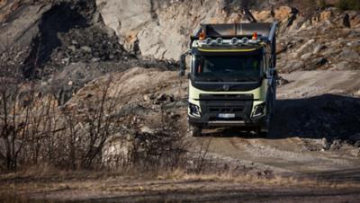 El chasis del Volvo FMX está diseñado para proteger todas las partes vitales