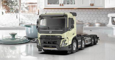 Truck samenstellen in Volvo Truck Builder
