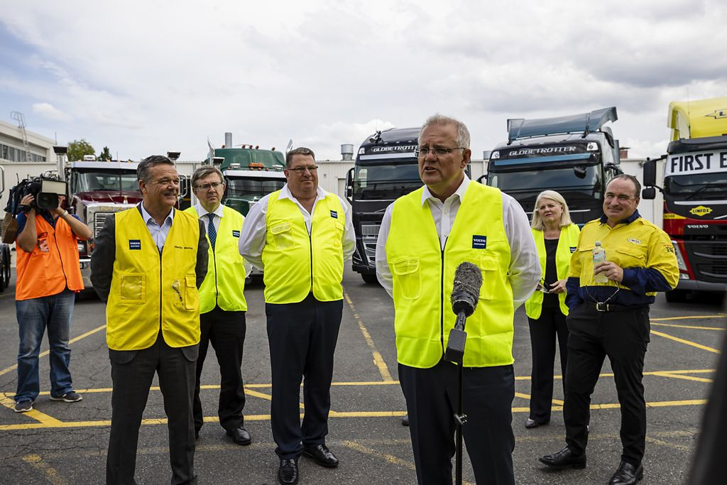 Volvo Group Australia was honoured to host Prime Minister