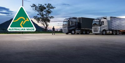 Our locally built trucks are certified Australian Made.