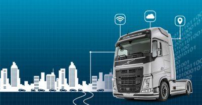 Vernetzte Lkw von Volvo Trucks