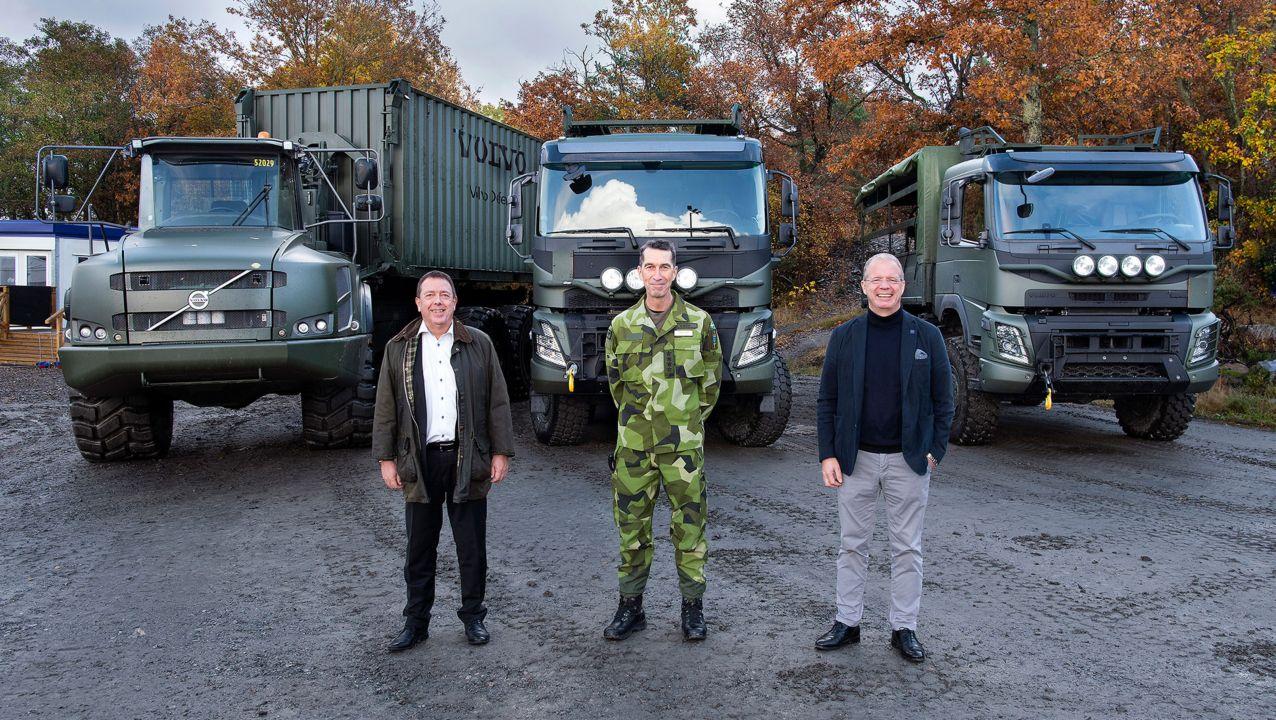 Volvokoncernen växer inom försvarssegmentet