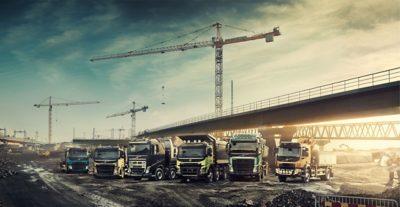 Volvo Trucks Bauinnovationen