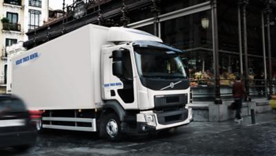 Huur een Volvo bakwagen