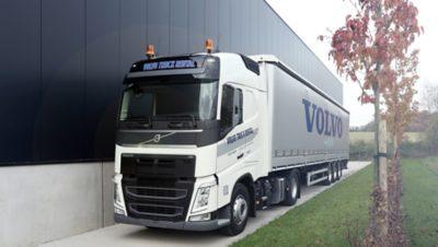 Ervaar de kwaliteit van een huurtruck van Volvo