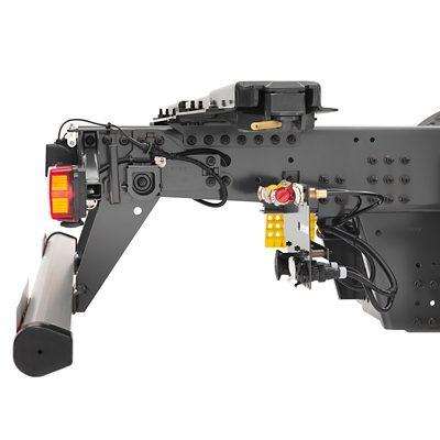 Protecciones traseras contra empotramiento disponibles en varias configuraciones