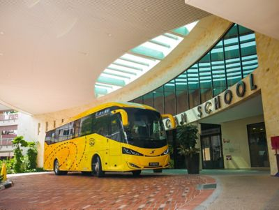 School bus operator Yeap Transport strives to maintain its impeccable record of no accidents involving serious injury.