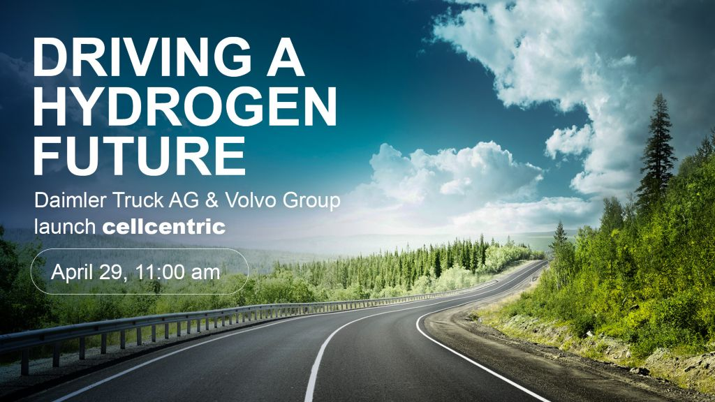 Daimler Truck AG and Volvo Group launch cellcentric