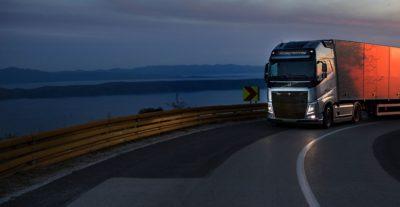 Chasis dinámico del Volvo FH