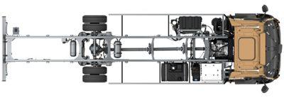 Uma gama de eixos dianteiros sem manutenção