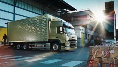 Volvo FM chassis warehouse truck