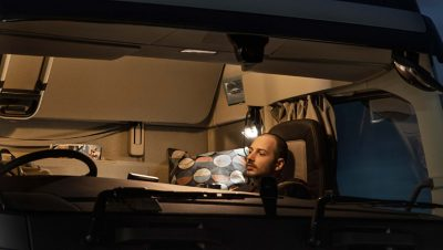 The Volvo FH offers comfortable sleep wherever you are.