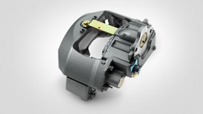 A complete exchange brake caliper unit