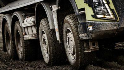 Volvo FMX crawler gears duty applications