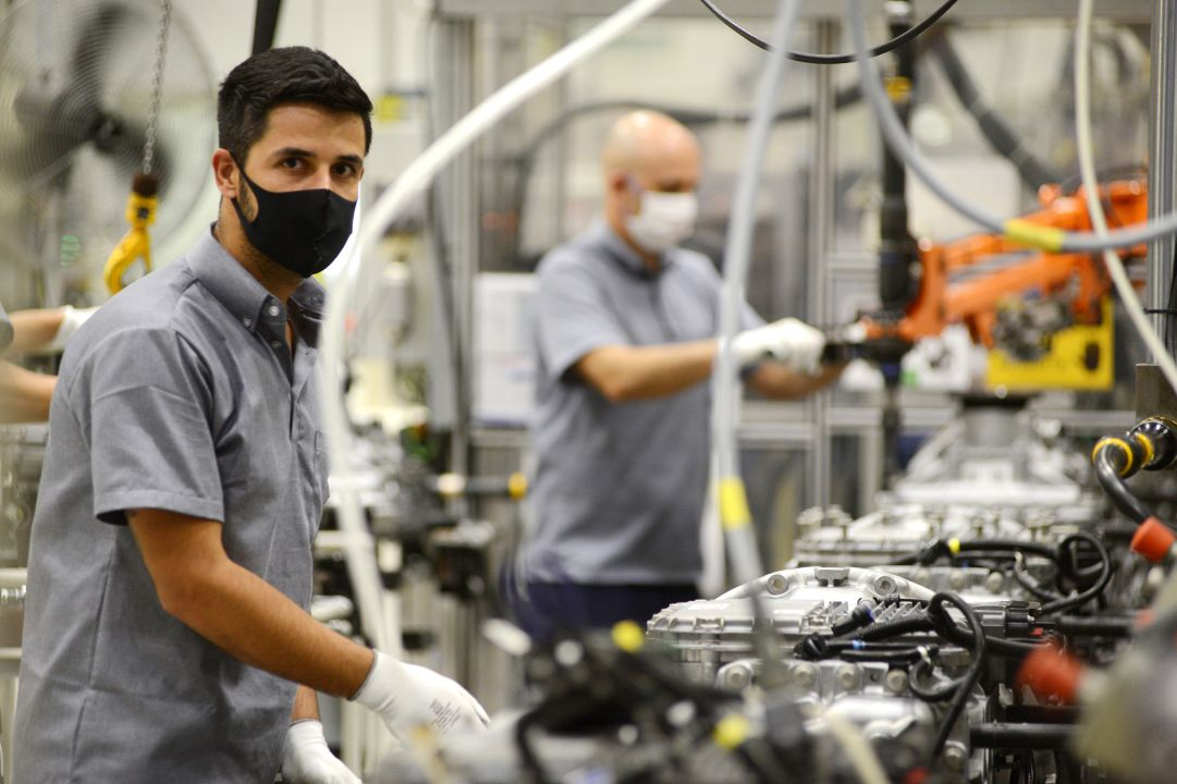 Safety around the clock at the Volvo Group in Brazil
