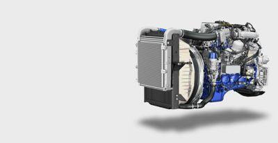 Os potentes motores Volvo FL com elevado binário
