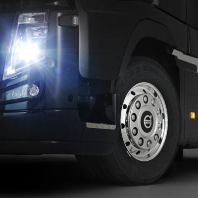 Volvo trucks euro 6 buying new trucks glowing headlight