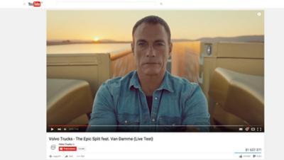 Vídeos da Volvo Caminhões no YouTube