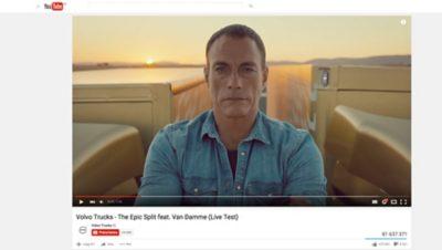 유튜브의 볼보트럭 동영상