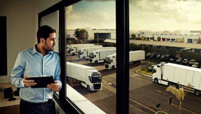 Volvo trucks euro 6 services dynafleet manager
