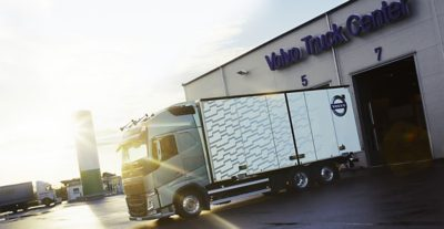 Volvo trucks euro 6 services landing