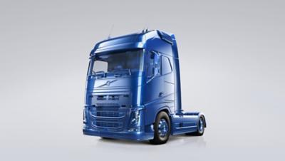 Volvo trucks euro 6 servicing contracts blue truck