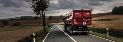 Volvo trucks dealer used truck selected road tree