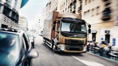 Volvo FL exterior city truck