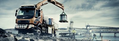 Volvo FL 4x4, for difficult roads