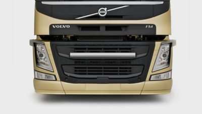 Las líneas aerodinámicas del nuevo Volvo FM
