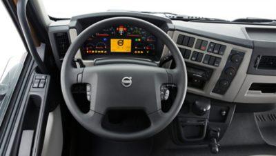 Ergonomisch gestaltete Fahrerkabine