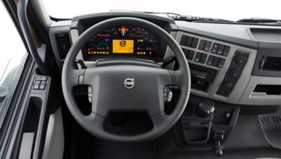 Ergonomikus kialakítású járművezetői környezet