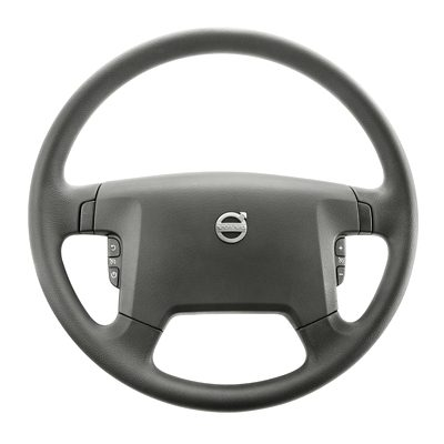 תא הנהג של Volvo FL – גלגל ההגה