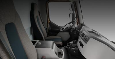Cabine du Volvo FL: confort intérieur, haut de gamme jusque dans les moindres détails