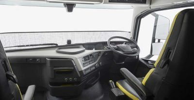 Espace et confort du Volvo FH16