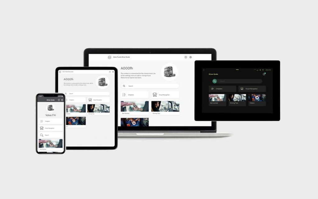 Online bestuurdershandleiding: nu digitaal kennis opdoen over nieuwe Volvo-truck