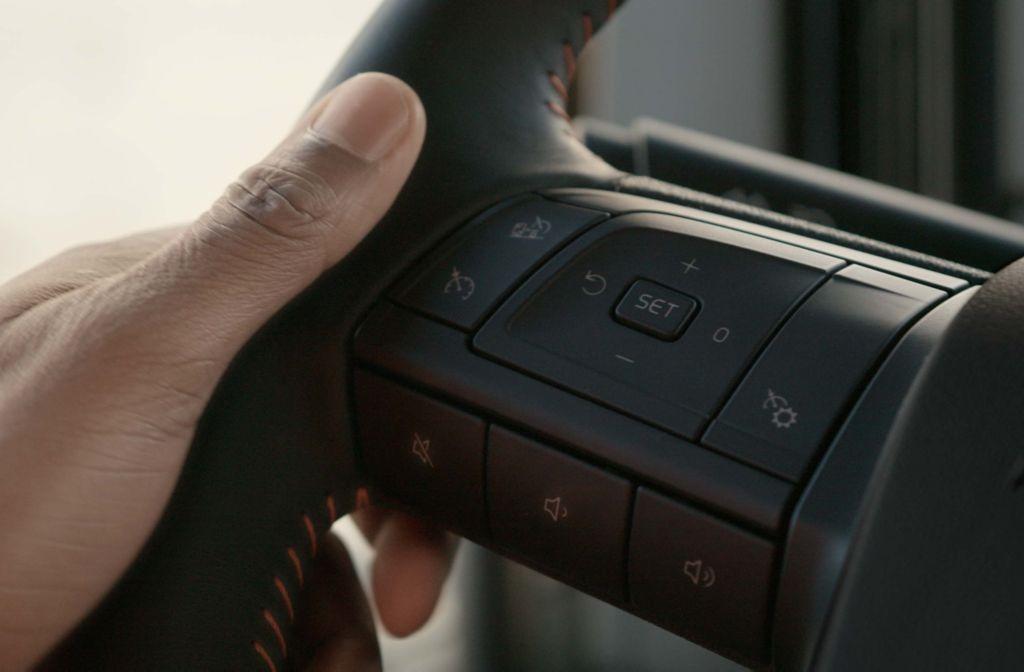 De ecostanden van uw cruise control hebben invloed op uw brandstofverbruik.