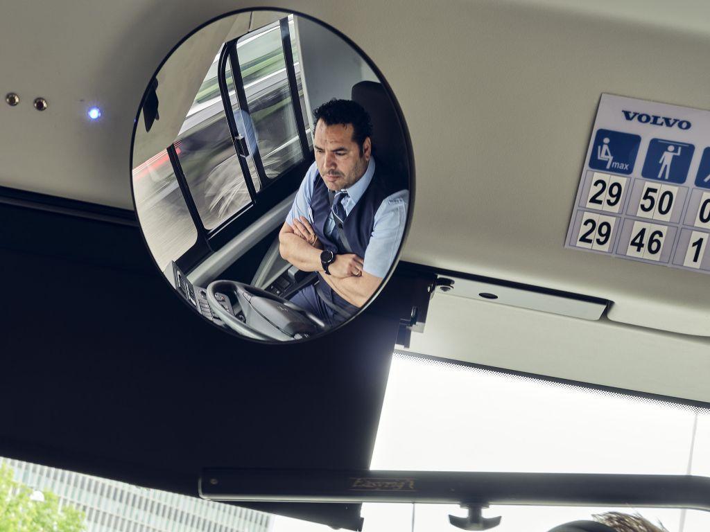 Bus driver in an autonomous bus