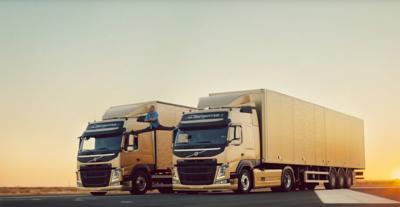 Volvo FM dynamic steering van damme