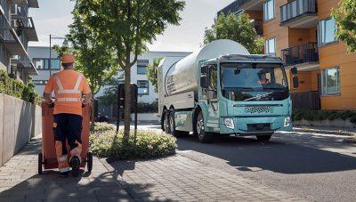 Volvo FE Electric: compacto pero espacioso