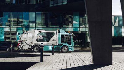 Volvo FI waste truck
