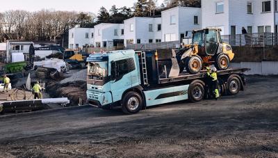 Volvo FMX Electric - Perfetto per la cantieristica in ambito urbano