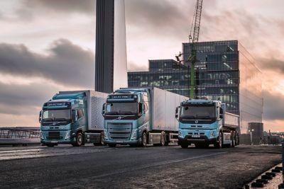 Volvo Trucks start dit jaar verkoop complete range zware elektrische trucks