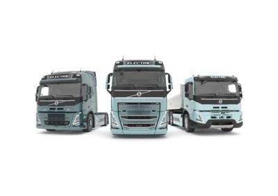 Elektrische Volvo Trucks-modellen