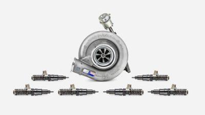 Volvo teherautók motorfelújítás áttekintés extra készlet