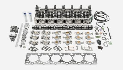 Volvo Trucksin moottorinkunnostussarja, ylämoottori