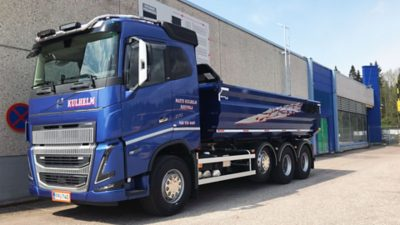 Matti Kulhelmin uusi Volvo FH16
